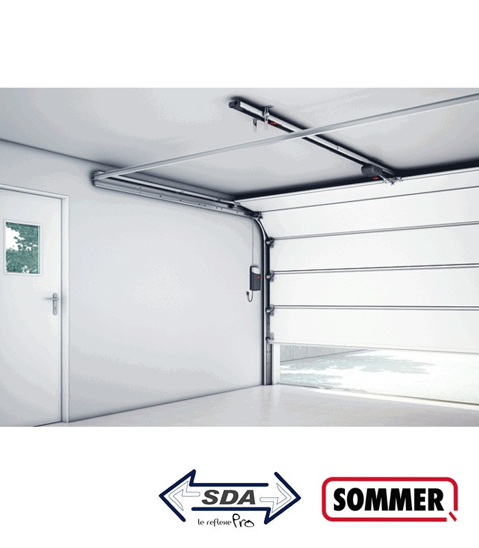 Motorisation sommer duo vision sda portes de garage for Motorisation sommer porte de garage