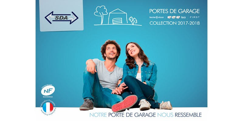 Nouveau catalogue 2018 SDA portes de garage